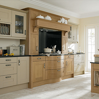 Broadoak Linen Painted Kitchen
