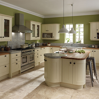 Broadoak Ivory Painted Kitchen