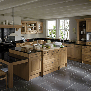 Cornell Oak Classic Kitchen