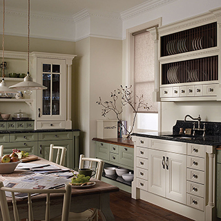 Cornell Willow Painted Kitchen