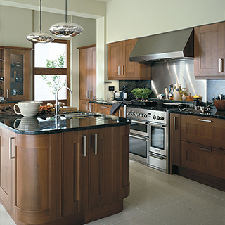 Estro Walnut Classic Kitchen
