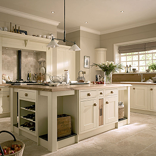 Milton Ivory Painted Kitchen