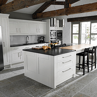 Milton Chalk Painted Kitchen