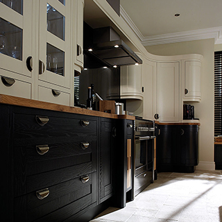 Milton Charcoal Painted Kitchen