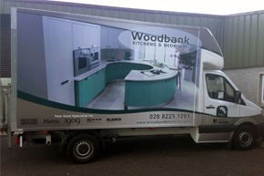 Woodbank-Kitchen-Delivery-Van-Omagh-Northern-Ireland