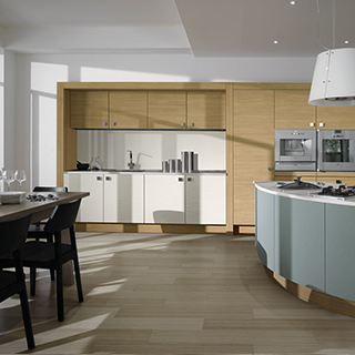 Peninsular Curve Metris Kitchen