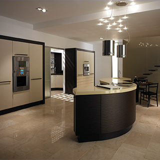 Wave Curve Metris Kitchen