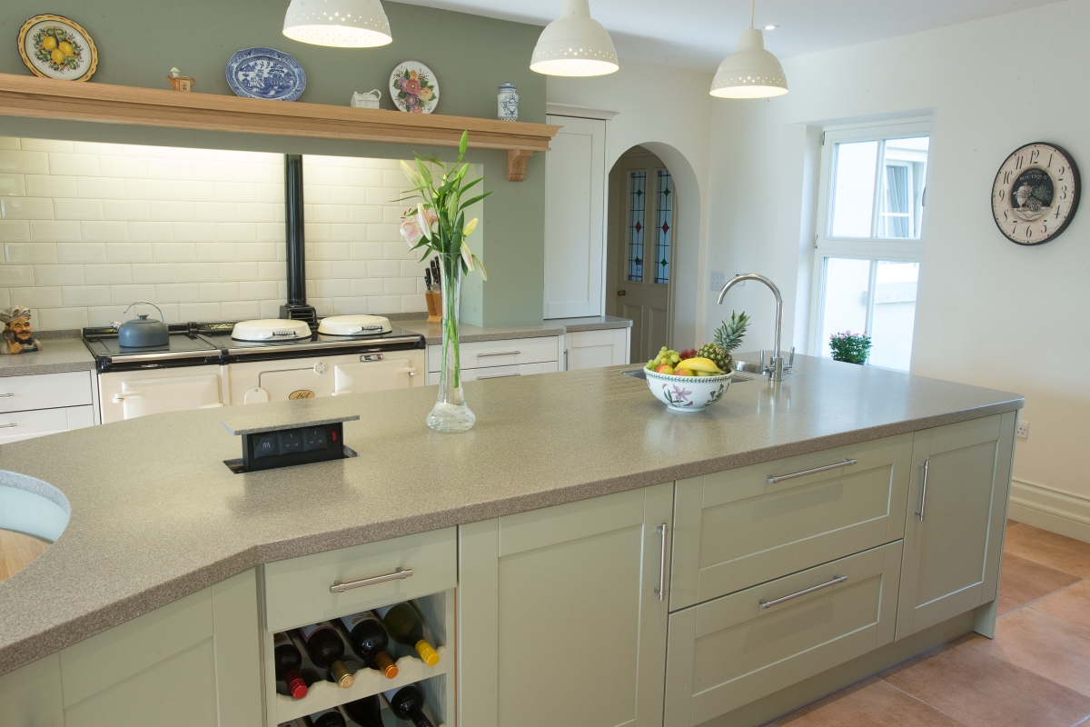 Woodbank Kitchens Northern Ireland Based Kitchen Design Company Bespoke Shaker Painted