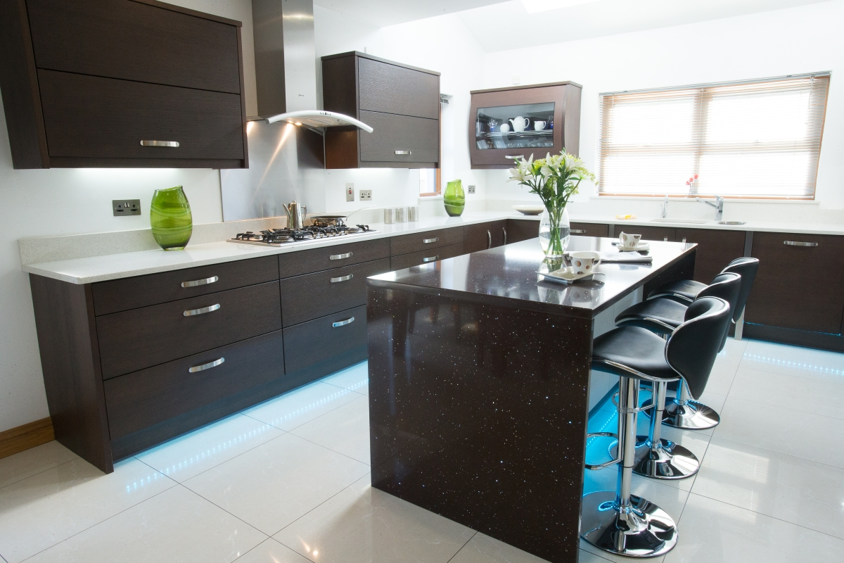 Woodbank Kitchens Northern Ireland Based Kitchen Design Company Izari Woodgrain Ignea
